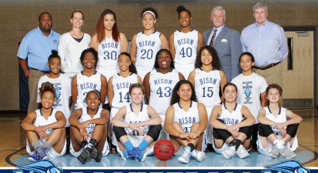 Girls Start Basketball Playoffs at Mullen