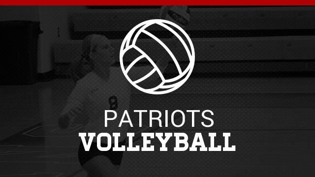 Lady Patriots Varsity Volleyball 1st Home Game