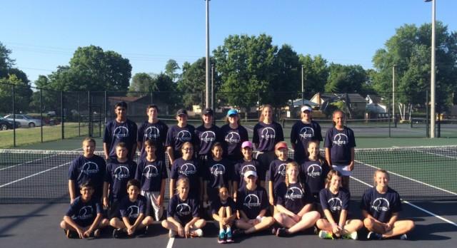 Wonderful Week of Tennis Camp!