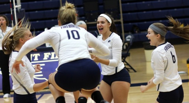 Volleyball wins big against Springfield