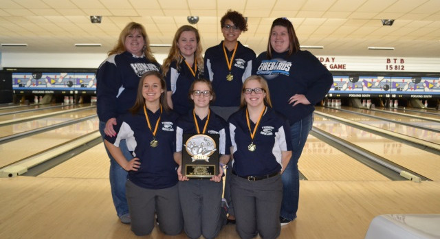 Fairmont Bowling – Girls win JV Championship, Boys take 3rd