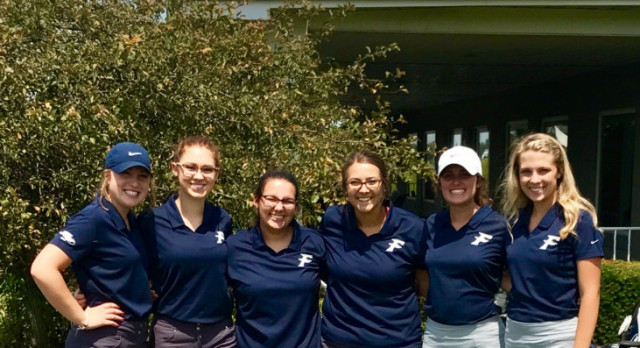 Varsity Girls Golf Finishes 5th in State Sectionals.