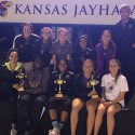 Girls track earns three cups at KU Relays