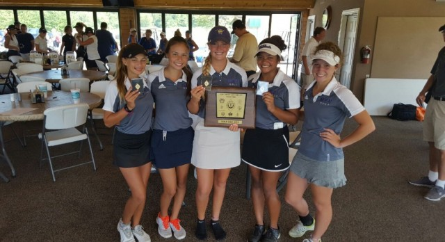 Golf conference champs!