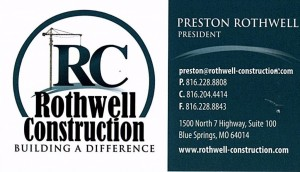 Sponsor--Rothwell Construction