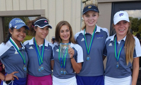 Sierra Heuston wins Golf Suburban Conference Championship