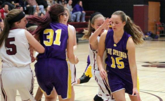 Girls Basketball gets back in shape