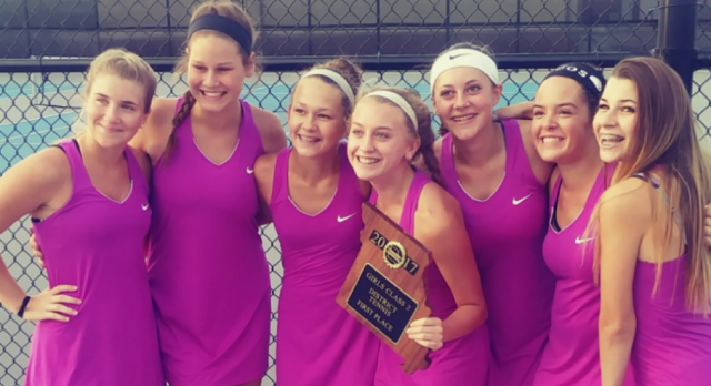 Tennis wins first District Championship since 1998