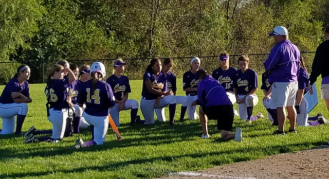 SOFTBALL EARNS 2ND PLACE DISTRICT FINISH