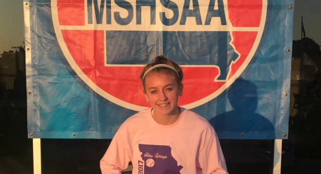 SPORING EARNS ALL-STATE