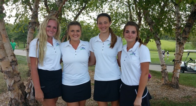 Girls Varsity Golf finishes 3rd place