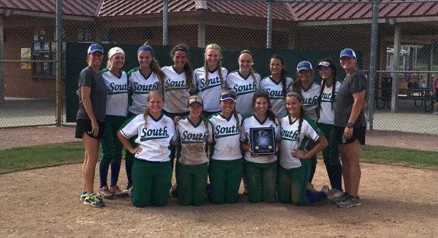 Blue Springs South Varsity Softball beat Rockwood-Summit 11-7