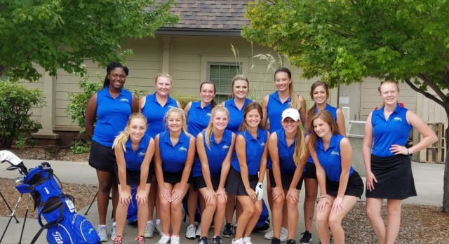 Blue Springs South Girls Varsity Golf finishes 1st place
