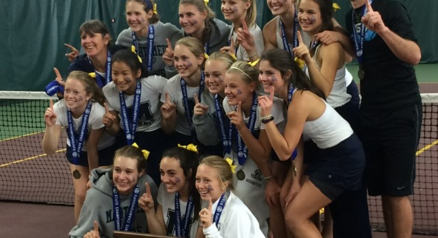 Girls Tennis Wins Class 4AA State Team Championship!