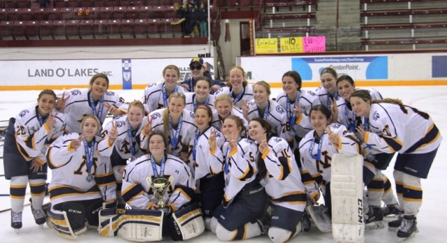 Girls Hockey finishes strong in Schwan's Cup!