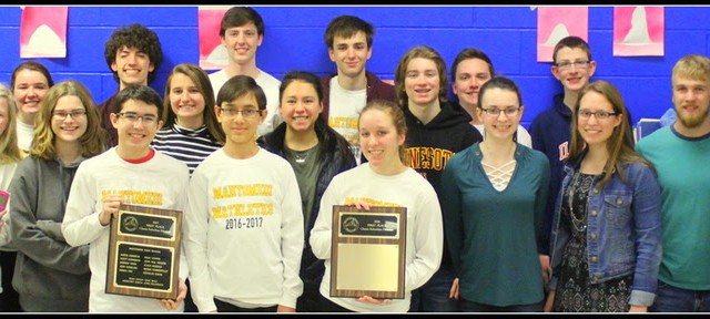 MHS Math Team headed for STATE!