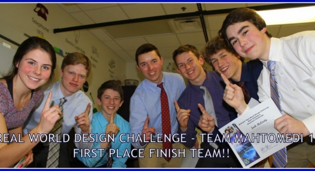 Real World Design Challenge take 1st, 2nd, 3rd at STATE!