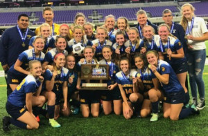 Girls Soccer State Champions