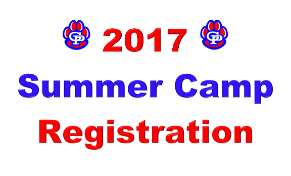 Summer Camp Registration- Updated 6/13/17