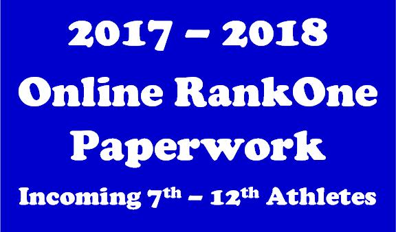 RankOne Paperwork 17-18