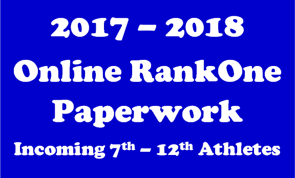 2017-18 RankOne Paperwork- Incoming 7th-12th
