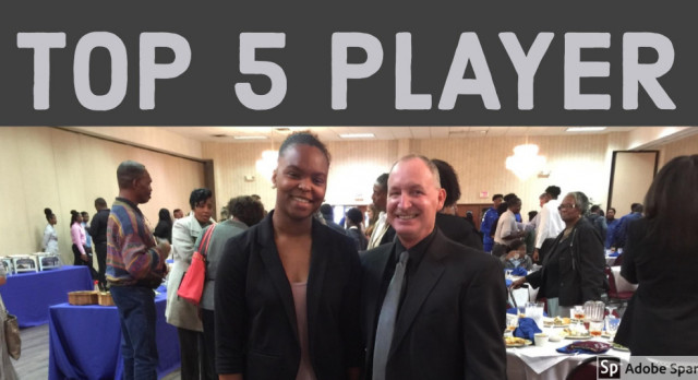Tamia Grate Selected as Top 5 Player in Class AAA