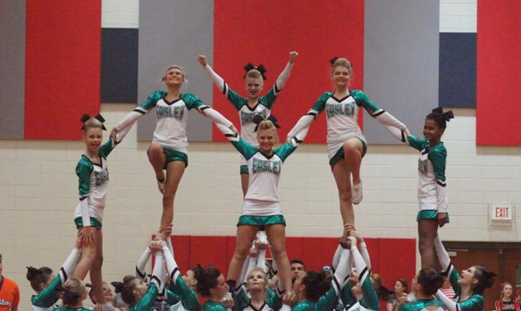 Cheer Finishes Second in Region