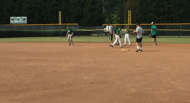 Baseball Defensive Camp Opens Up