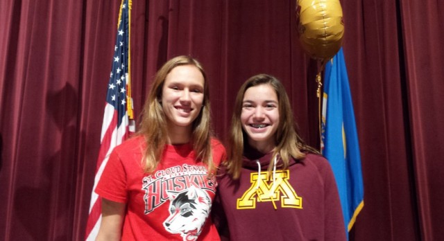 Student Athletes Sign National Letters of Intent
