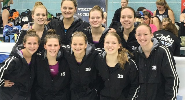 Waconia High School Girls Varsity Swimming finishes 26th place