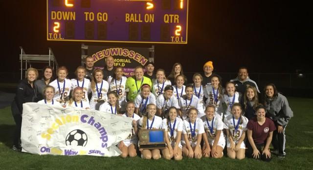 State Girls Soccer Team Seeded #5!