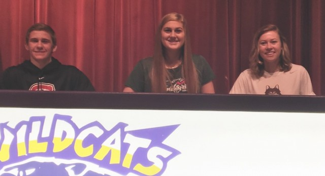 WHS Students Sign National Letter of Intent