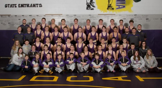 Wrestlers Named Class AA Academic Team Champions