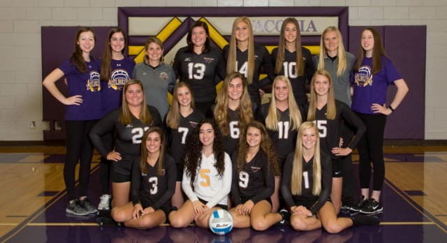 Volleyball Team Conference Champs