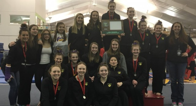 Gymnasts Section 2A Runner-up