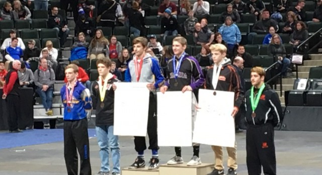 TWO TIME STATE CHAMPION!