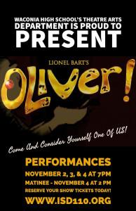 Oliver Artwork - Website, Posters, and Flyers