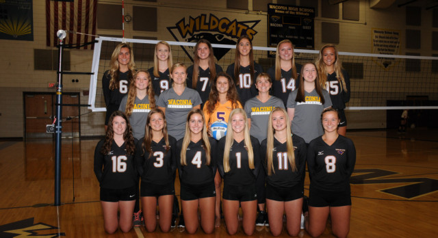 Wildcat Volleyball Team Conference Champs!