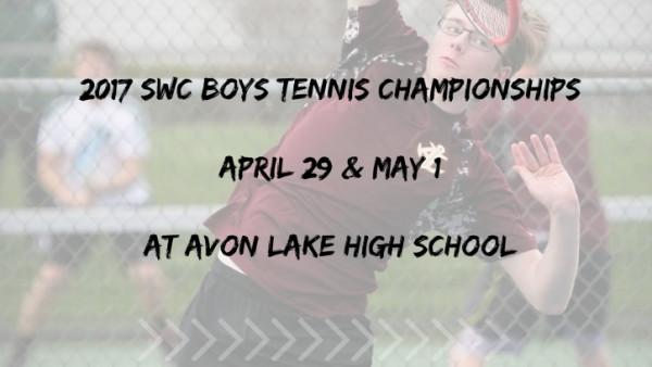 2017 SWCBoys tennischampionshipsApril 29 & may 1at avon Lake high school (2)