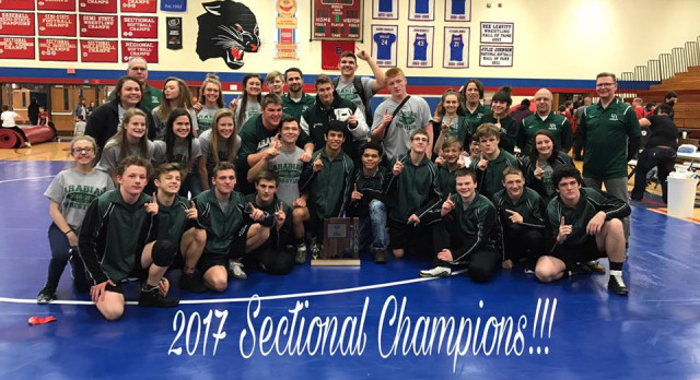 Wrestling Sectional Champs