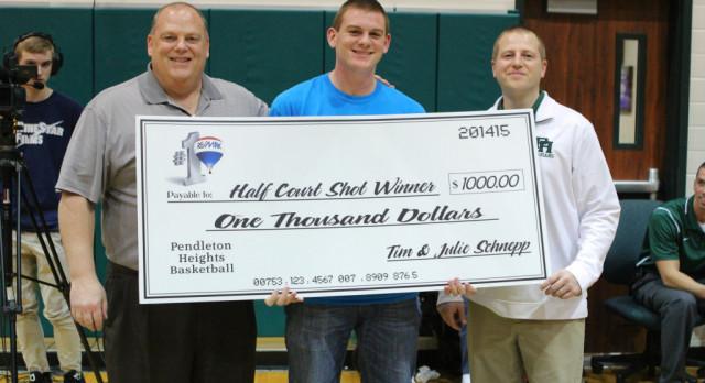 PHHS Student Hits Shot, Wins $1,000