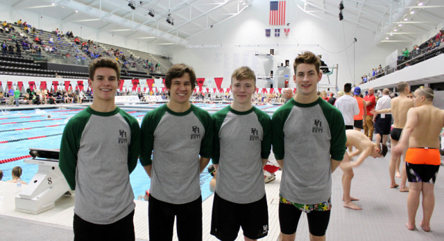 Swimmers Compete at State; Hollingsworth All-State