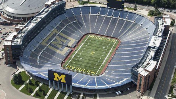 Shores Football To Open at Michigan Stadium