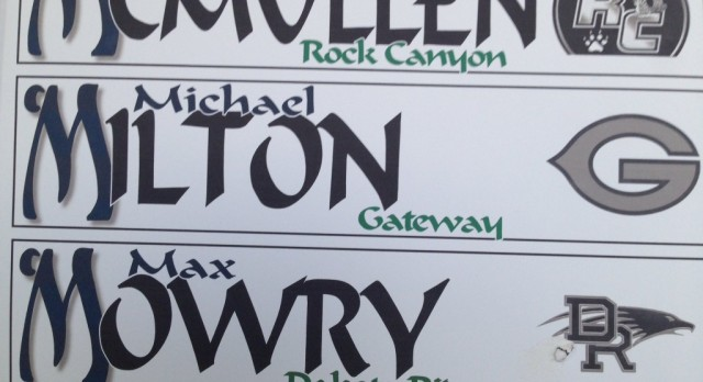 Senior Michael Milton – State Golf Tournament