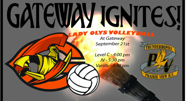 Lady Olys Volleyball vs Prairie View HS
