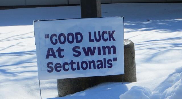 Boys Swim Sectional Tonight at AVON HS!