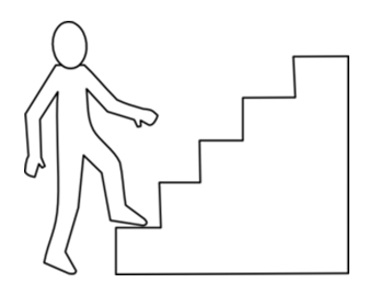 ONE STEP AT A TIME …. from Brian Cane