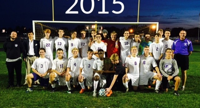 Congratulations Boys' Soccer Sectional Champs!