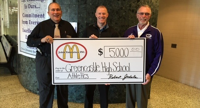Greencastle McDonald's Restaurant Supports the Tiger Cubs!