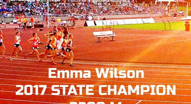 Emma Wilson Wins State!